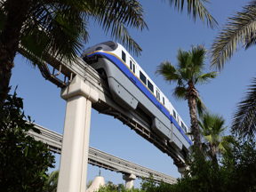 Amusement Park Monorail
