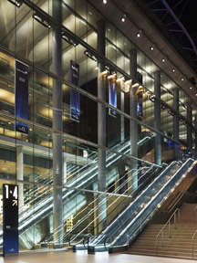 Escaltor sound systems for Arenas & Airports