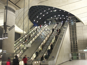 escalator messaging systems help keep riders safe and the flow of traffic moving